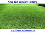 Which is the best astro turf company in Delhi