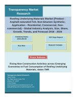Roofing Underlying Materials Market 2016 – Potential Growth, Analysis, Strategies and Forecast 2024