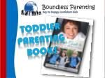 Toddler parenting books for becoming the best parent