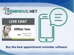 Get the perfect appointment reminder software