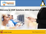 Top Asterisk And VOIP Bussiness Solution Australia:Kingasterisk
