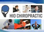 Basic chiropractic adjustment for chiropractic care