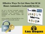 Effective Ways To Get More Out Of 24 Hours Automotive Locksmith Service