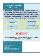 Membrane Bioreactor (MBR) Systems Market Key Trends, Size, Share, Growth Factors and Analysis 2012 – 2019