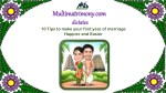 10 Tips to Make Your First Year of Marriage Happier and Easier