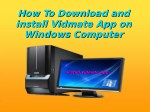 How To Download and install Vidmate App on Windows Computer?