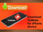 Download VidMate For iPhone Device