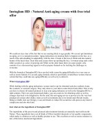 Instaglam HD Anti Wrinkle Cream- Remove Wrinkles And fine Lines