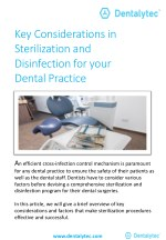 Key Considerations in Sterilization and Disinfection for your Dental Practice