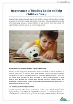 Books to Help Children Sleep - Snooze For Kids