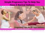 Pregnancy Tips for Normal Delivery | Simple Exercises for Normal Delivery | Tips for Healthy Pregnancy