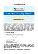 Study MBBS In Abroad Indian Students