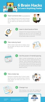 6 Brain Hacks To Learn Anything Faster