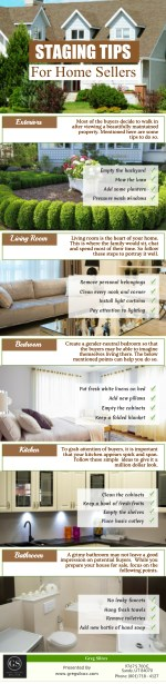 Staging Tips For Home Sellers