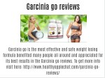 Garcinia go reviews