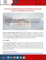 Cervical Intraepithelial Neoplasia (CIN) Market Development Analysis and Pipeline Review by 2017