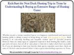 Kick-Start the Next Duck Hunting Trip in Texas by Understanding & Buying an Extensive Range of Hunting Camo