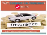 compare car insurance - Reducemycarinsurancetoday
