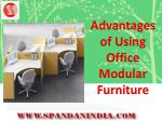 Advantages of Using Office Modular Furniture