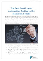 Best Practices for Automation Testing : Proteus Invents