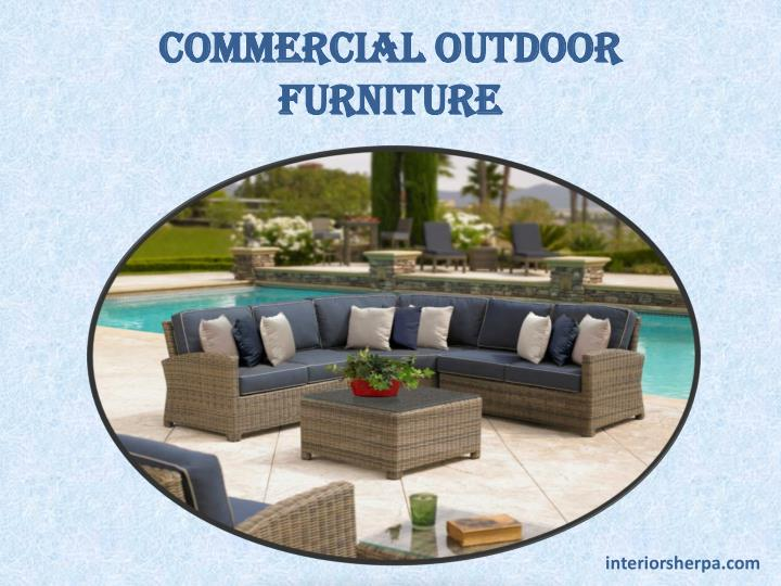 commercial outdoor furniture n.