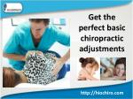 Get Chiropractor for upper back pain