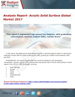 Analysis Report- Acrylic Solid Surface Global Market 2017
