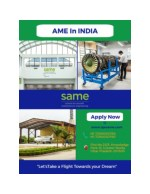 AME in India | Join Aircraft Maintenance Engineering Courses at SAME, Greater Noida