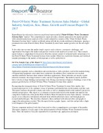 Point of entry water treatment systems sales Market Analysis- Size, Share, Overview, Scope, Revenue, Gross Margin, Segme