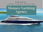 Sailing and Yachting - Monaco Yachting Agency