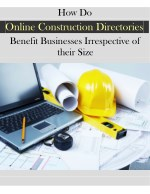 How do Online Construction Directories Benefit Businesses?