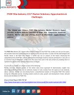 PVDF Film Industry 2017 Market Solutions, Opportunities & Challenges