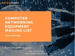 Computer Networking Equipment Mailing List