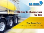 DIY-How to change your car Tire