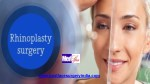 Nose Job Rhinoplasty Surgery in Delhi India by Dr Ajaya Kashyap