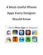 4 Most-Useful iPhone Apps Every Designer Should Know