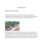 Street Furniture UK