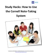 Study Hacks: How to Use the Cornell Note-Taking System