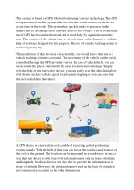 How works on GPS and Reasons for using vehicle tracking system
