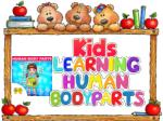 Kids Learning Human Bodyparts