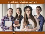 Best Essay Writing Service in UK