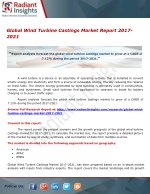 Global Wind Turbine Castings Market Research And Forecast Report 2017-2021