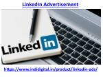 How to use Linkedin Advertisement for your business Promotion