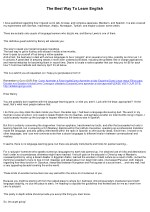Rules for Learning Foreign Languages in Record Time - The Only Post You'll Ever Need