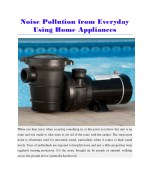 noisy pool pumps