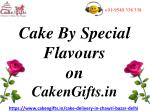 CakenGifts.in Offers Online Cake with Different Flavours