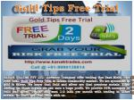 Base Metal Tips Free Trial, Gold Tips Free Trial