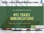 Things to know about Travel Vaccinations