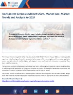 Transparent Ceramics Market Study by Key Manufacturers, Regions, Type and Application to 2024