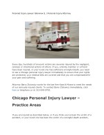 Personal Injury Lawyer Glenview IL   Personal Injury Attorney